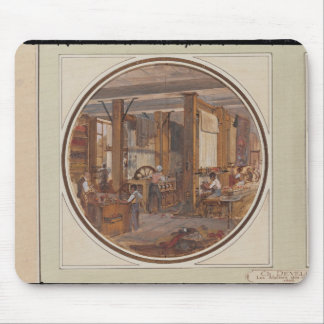 The Gobelins Workshop, 1840 Mouse Pad