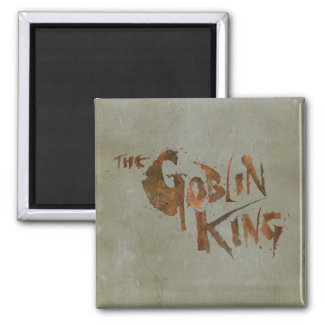 The Goblin King 2 Inch Square Magnet