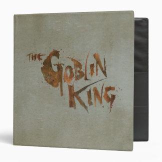 The Goblin King 3 Ring Binder