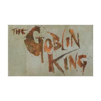 The Goblin King Canvas Print