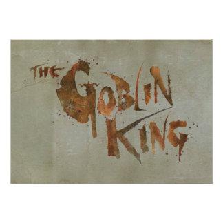The Goblin King Personalized Invite