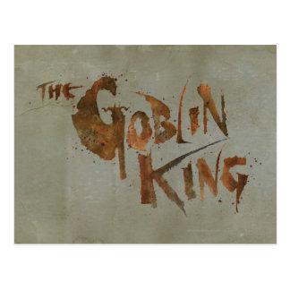 The Goblin King Postcard