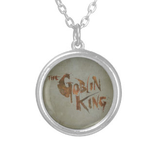 The Goblin King Round Pendant Necklace