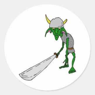 The Goblin Classic Round Sticker