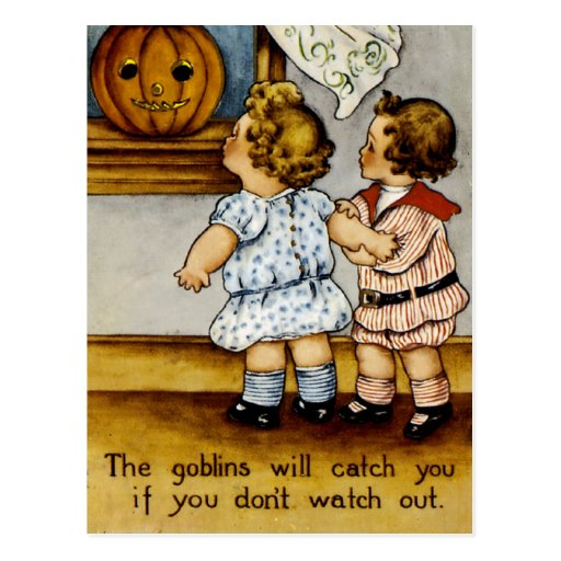 The Goblins Will Catch You! Postcards