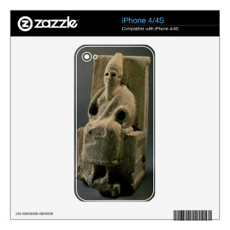The god El, from Ugarit, 13th century BC (limeston Decal For The iPhone 4S