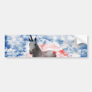 The God horse which ranges the empyrean Bumper Sticker