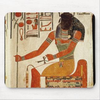 The god, Khepri, from the Tomb of Nefertari Mouse Pad