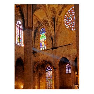 The God light Postcard
