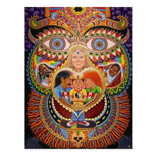 The God of Healing  Postcard