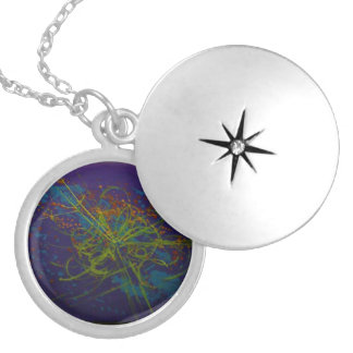 The God Particle Round Locket Necklace