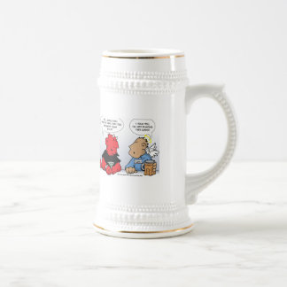 The God Puzzle Beer Stein