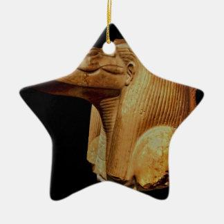 The God Sobek Ceramic Ornament
