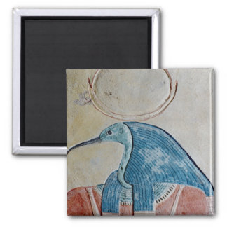 The god Thoth 2 Inch Square Magnet