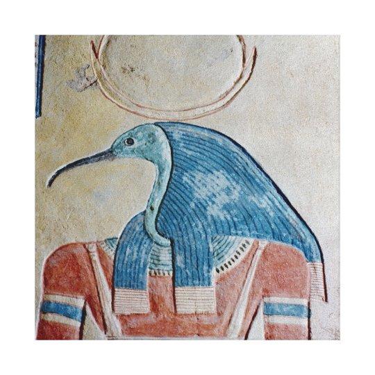 The god Thoth Canvas Print