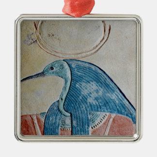 The god Thoth Metal Ornament
