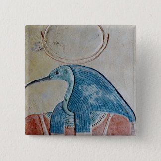The god Thoth Pinback Button