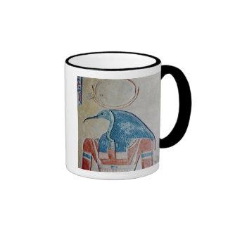 The god Thoth Ringer Coffee Mug