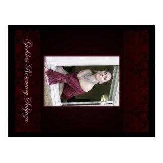 The Godddess Rosemary on the window Postcard