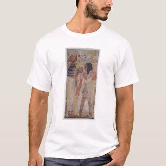 The Goddess Hathor placing the magic collar T-Shirt
