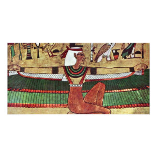 The Goddess Isis,  By Ägyptischer Maler Um 1360 Photo Greeting Card