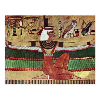 The Goddess Isis,  By Ägyptischer Maler Um 1360 Postcard