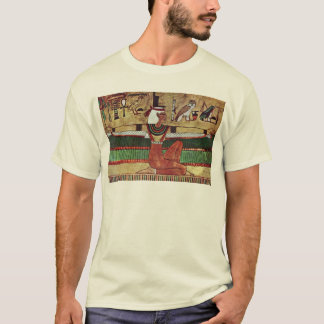 The Goddess Isis,  By Ägyptischer Maler Um 1360 T-Shirt