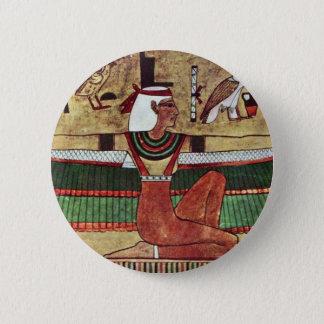 The Goddess Isis,  By Ägyptischer Maler Um 1360 V. Button