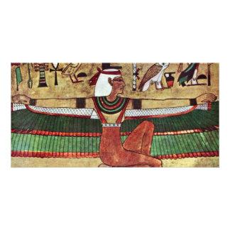 The Goddess Isis,  By Ägyptischer Maler Um 1360 V. Photo Card