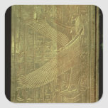 The goddess Isis Square Stickers