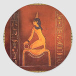 The Goddess Isis Stickers