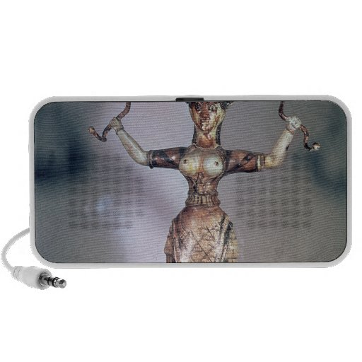 The Goddess of the Serpents iPod Speakers