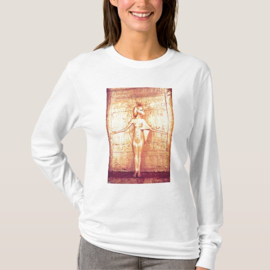 The goddess Selket on the canopic shrine T-Shirt