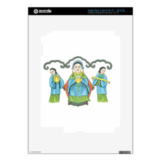 The Goddess that cures eye diseases iPad 3 Decal
