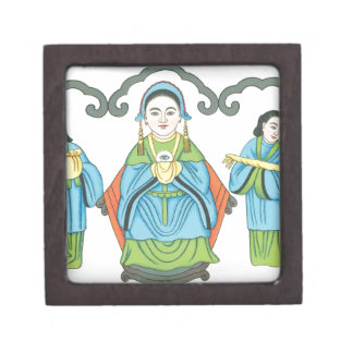 The Goddess that cures eye diseases Jewelry Box