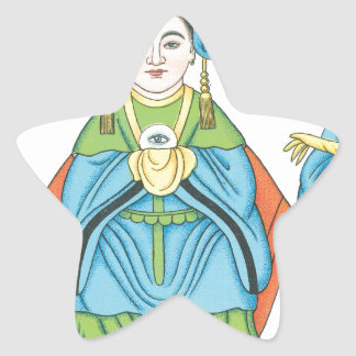 The Goddess that cures eye diseases Star Sticker