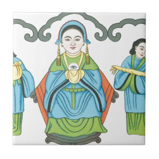 The Goddess that cures eye diseases Tile