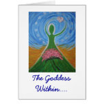 The Goddess Within Card