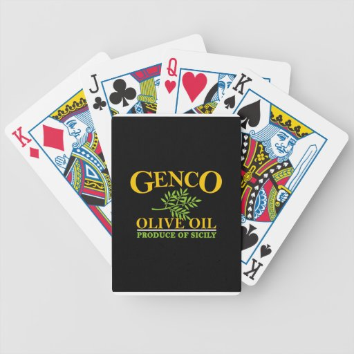 The Godfather - Genco olive oil Card Deck