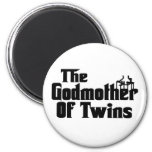 The GODMOTHER of TWINS Refrigerator Magnet