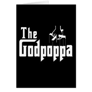 The Godpoppa Fun Father's Day Apparel Card