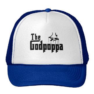 The Godpoppa Fun Father's Day Apparel Trucker Hat