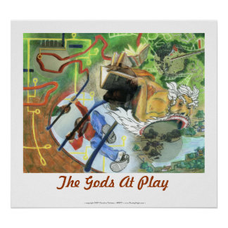 The Gods At Play Poster