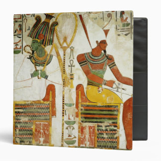 The Gods Osiris and Atum, from Tomb of 3 Ring Binder