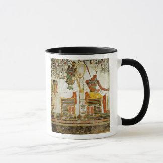 The Gods Osiris and Atum, from Tomb of Mug