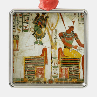 The Gods Osiris and Atum, from Tomb of Christmas Ornament
