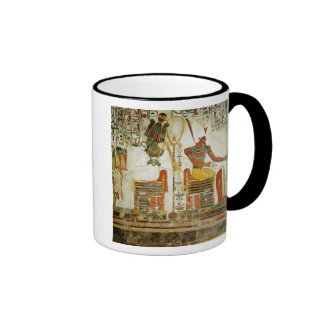 The Gods Osiris and Atum, from Tomb of Ringer Coffee Mug