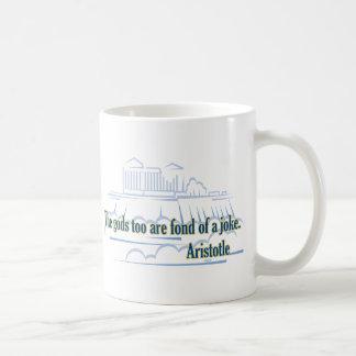 The gods too are fond coffee mug