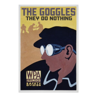 the goggles they do nothing print