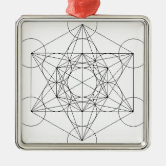 The going fishing faith ' s cube metal ornament